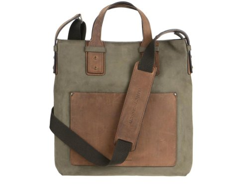 Ruitertassen - LEISURE - Leder Shopper I