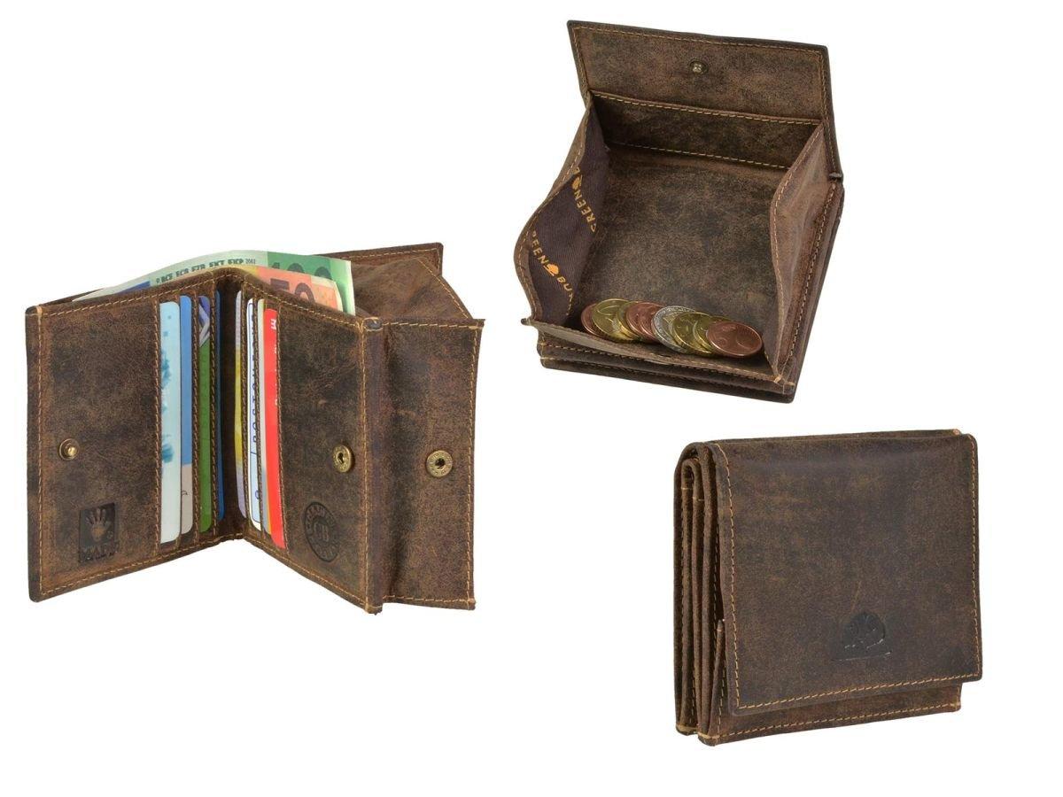 5ce11f59fdd46 Geldbörse Leder Wiener Schachtel GREENBURRY Vintage jetzt online ...